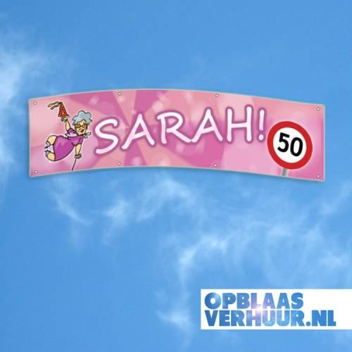 Spandoek 'Sarah' 4m afbeelding 1