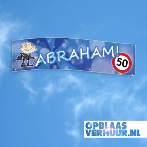 Spandoek 'Abraham' 4m afbeelding 1
